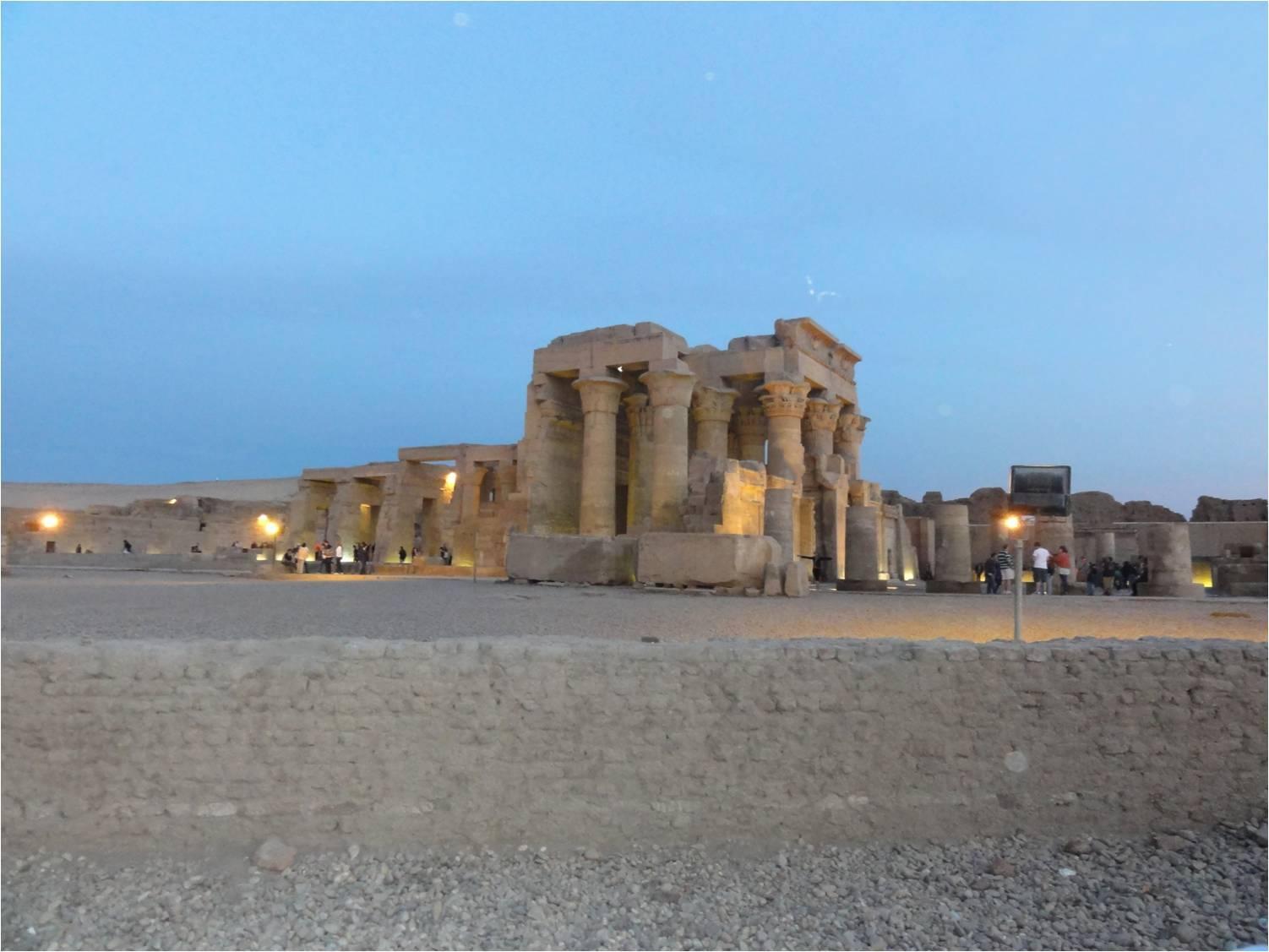 Ком Омбо. Храм Бога Себека-Хоруса